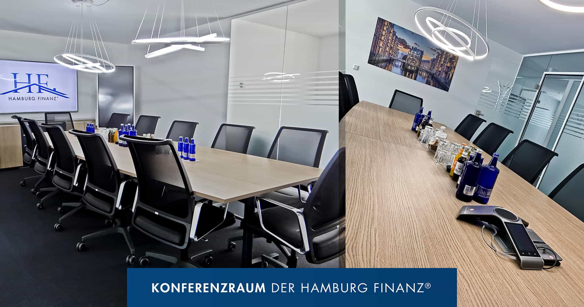 Büro der Hamburg Finanz